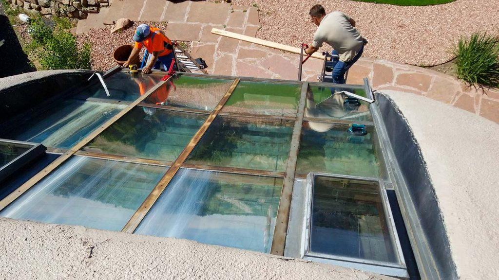 dome home skylight retrofit 14522-3