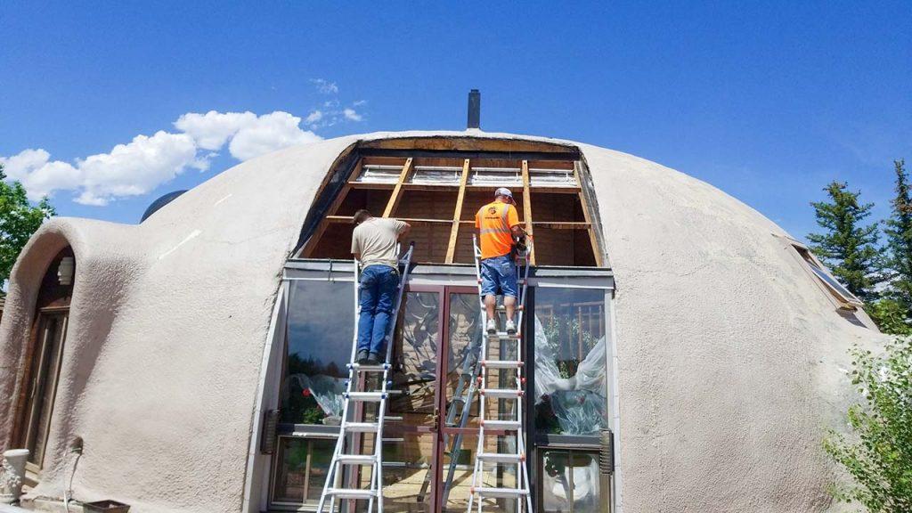 dome home skylight retrofit 14522-4