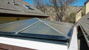 reglaze acrylic pyramid skylight 30654-2