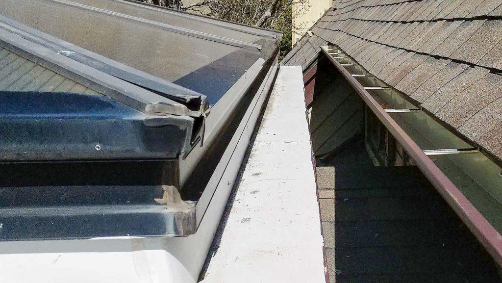 reglaze acrylic pyramid skylight 30654-3