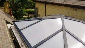 reglaze acrylic pyramid skylight 30654-6