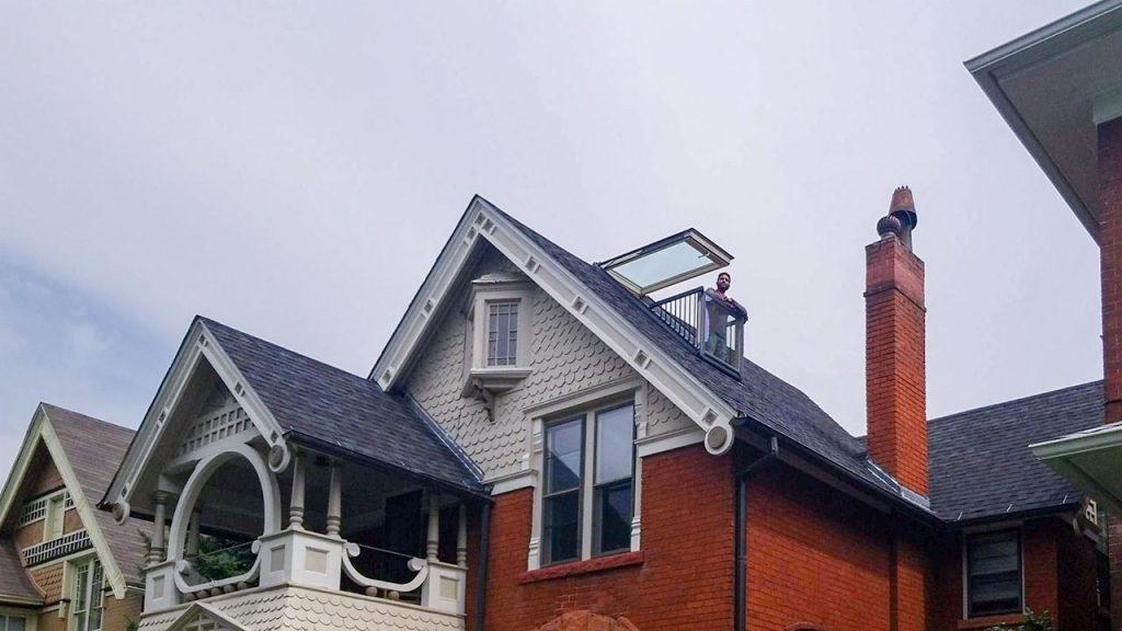 Velux Cabrio balcony skylight 31251-13