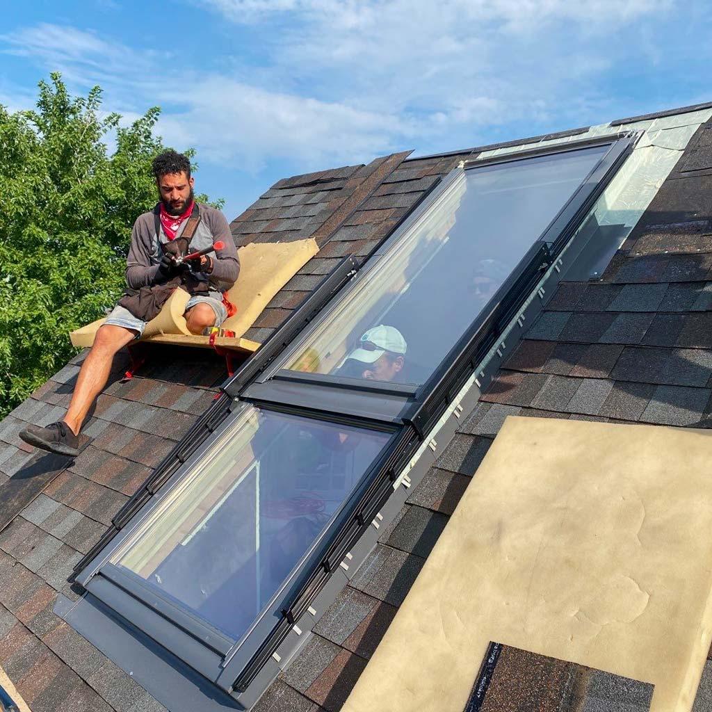 Velux Cabrio balcony skylight 31251-8