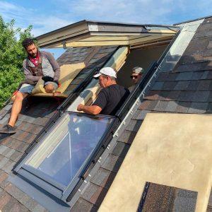 Velux Cabrio balcony skylight 31251-9