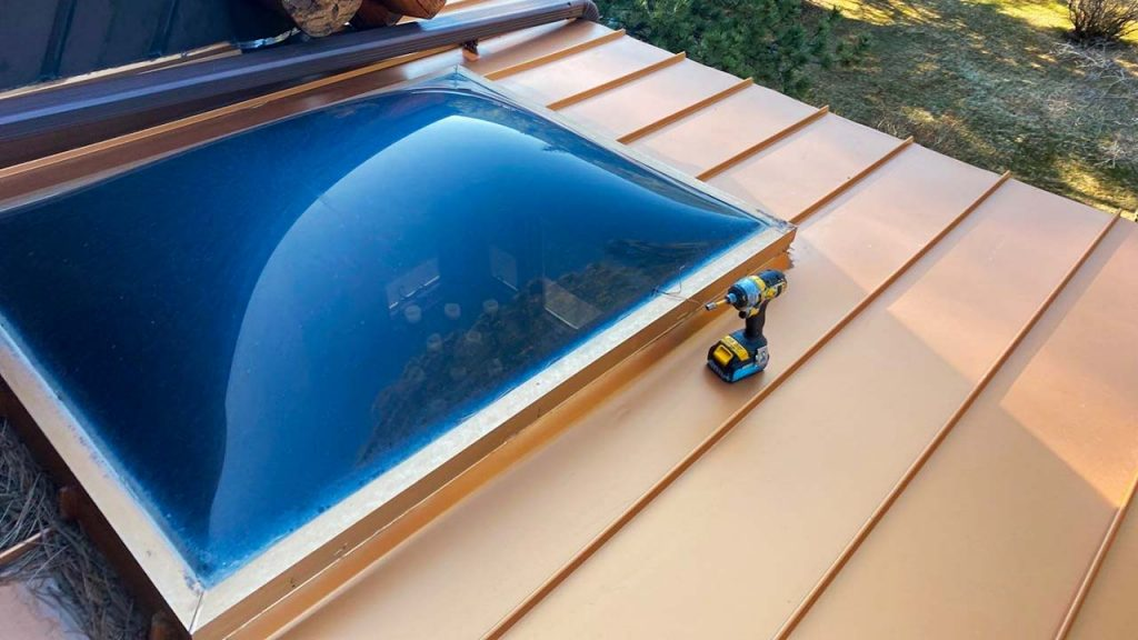 Velux custom fixed skylight 30702-1