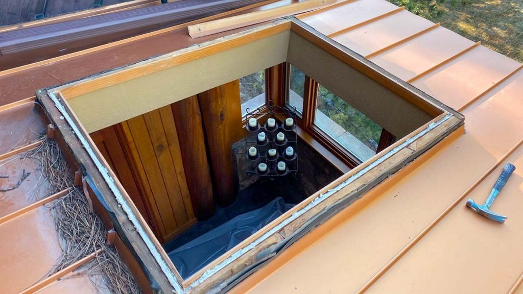 Velux custom fixed skylight 30702-3