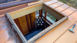 Velux custom fixed skylight 30702-3