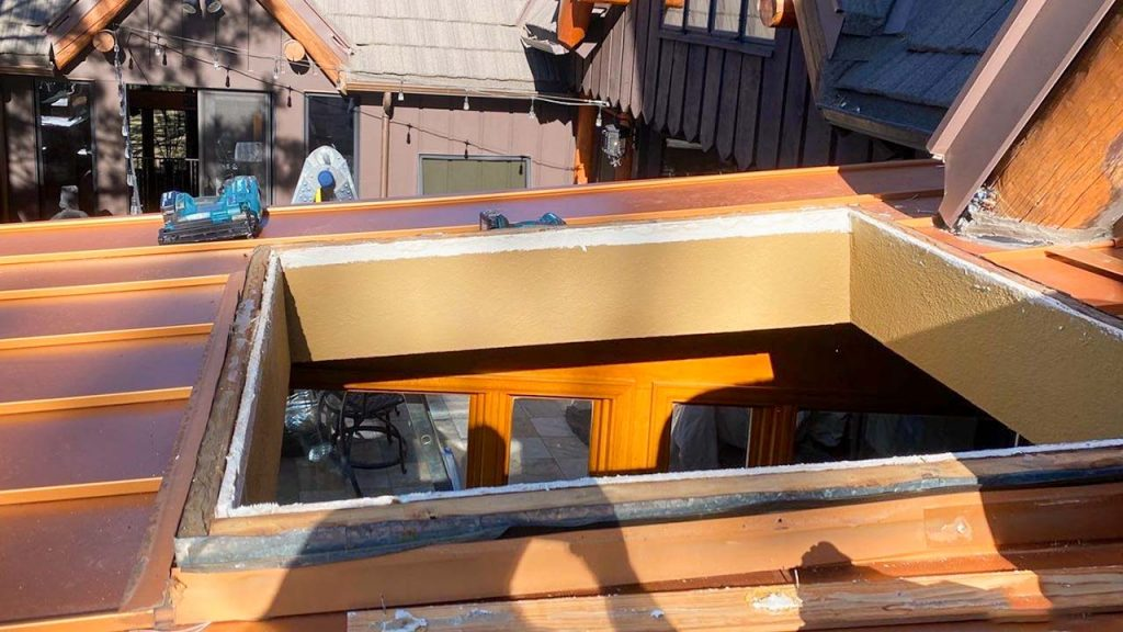Velux custom fixed skylight 30702-4