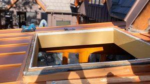Velux custom fixed skylight 30702-4