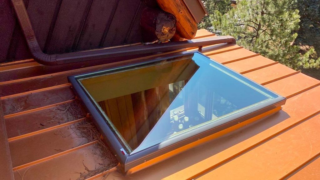 Velux custom fixed skylight 30702-7