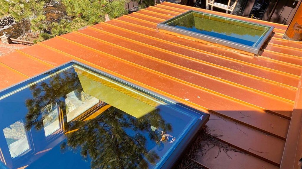 Velux custom fixed skylight 30702-8