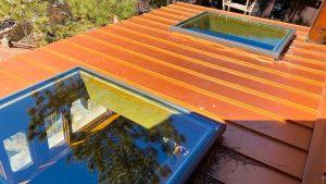 Velux custom fixed skylight 30702-8