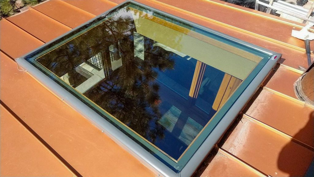 Velux custom fixed skylight 30702-9
