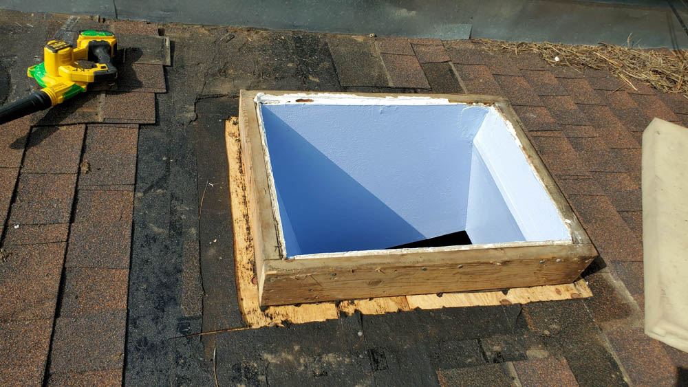 curb mount skylight 31435-1