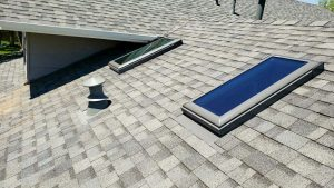 install Velux manual venting skylight 29397-10