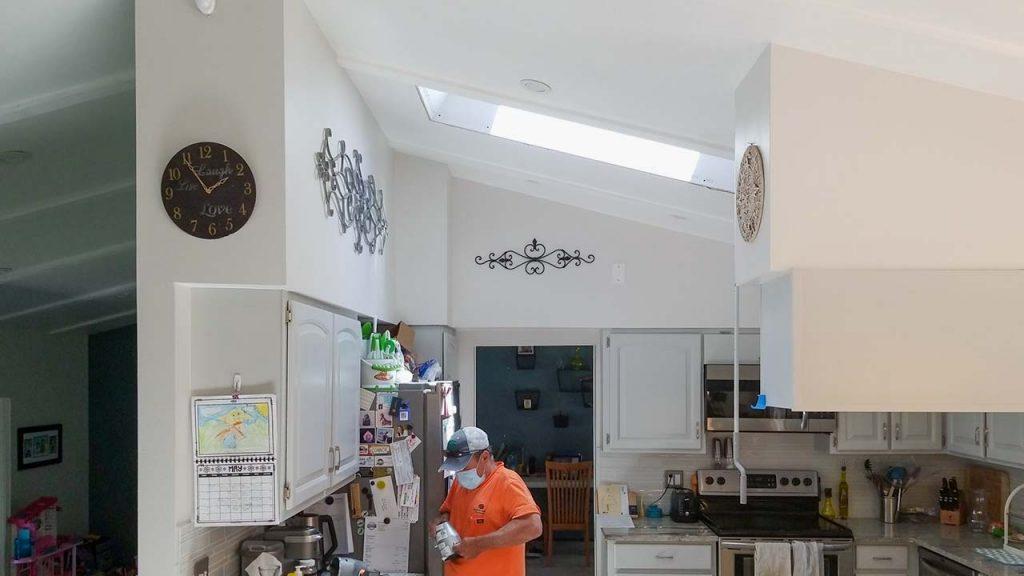 install Velux manual venting skylight 29397-12