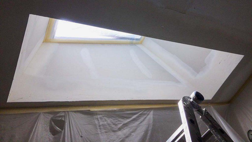 install Velux manual venting skylight 29397-15
