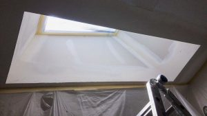 install Velux manual venting skylight 29397-15