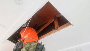 install Velux manual venting skylight 29397-2