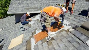 install Velux manual venting skylight 29397-6