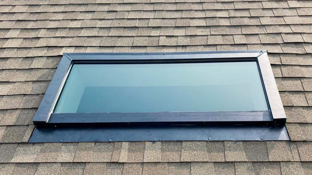 new installation MAGS Bar skylight 31275-10