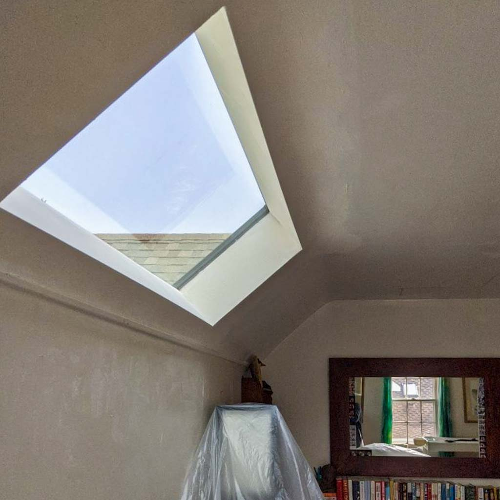 new installation MAGS Bar skylight 31275-7