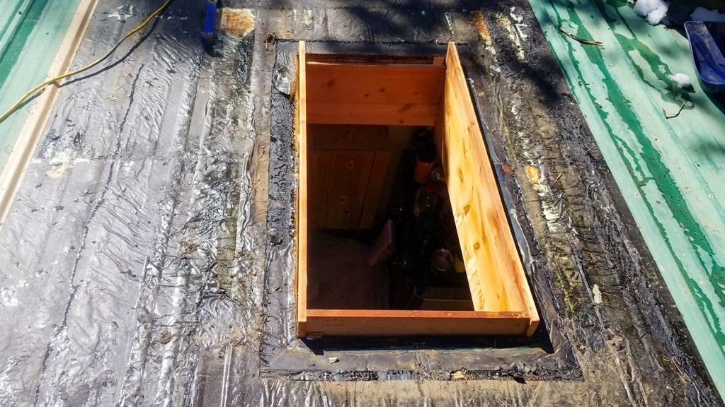 Frisco log home skylight replacement 31589-10