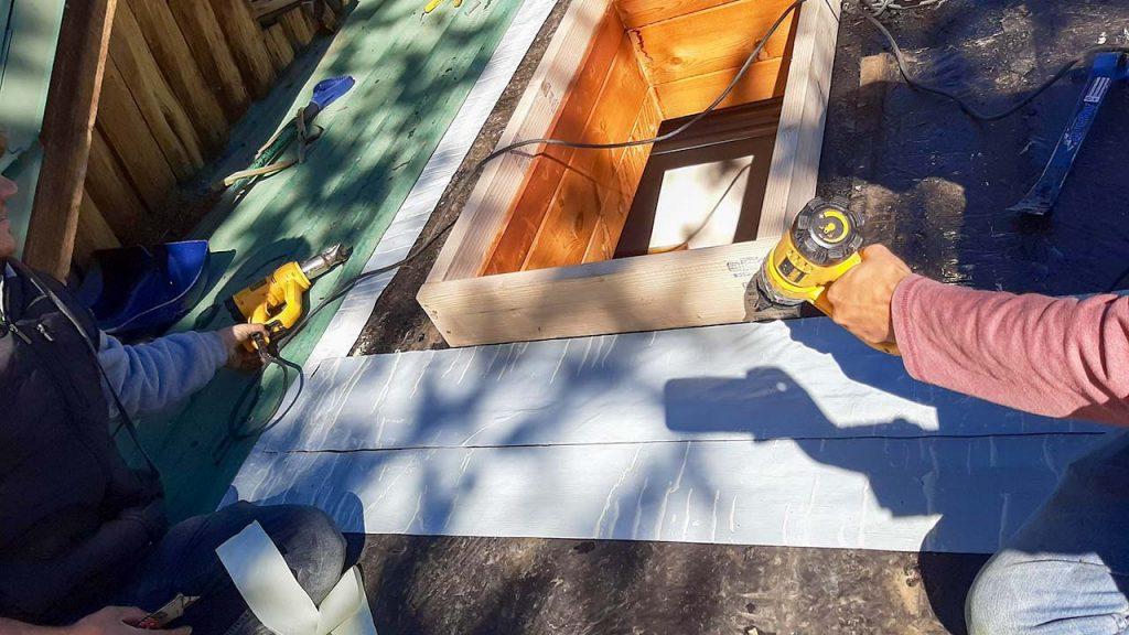 Frisco log home skylight replacement 31589-11