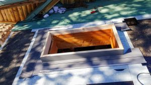 Frisco log home skylight replacement 31589-15