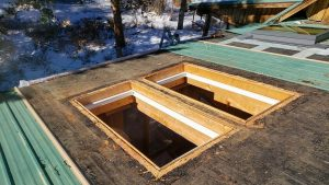 Frisco log home skylight replacement 31589-20