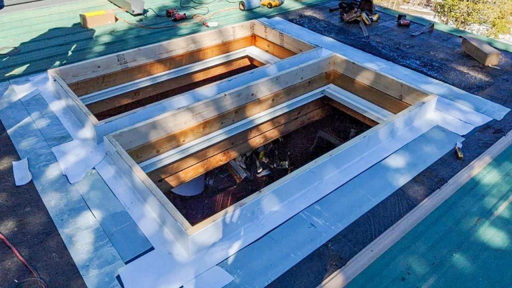 Frisco log home skylight replacement 31589-26