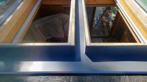Frisco log home skylight replacement 31589-29