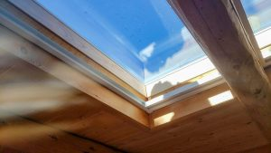 Frisco log home skylight replacement 31589-35
