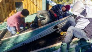 Frisco log home skylight replacement 31589-7