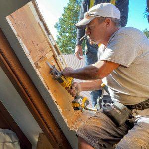 replace skylight metal roof 26062-8