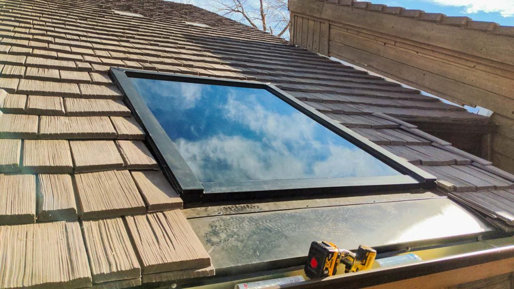 replace glass set in roof 30434-22