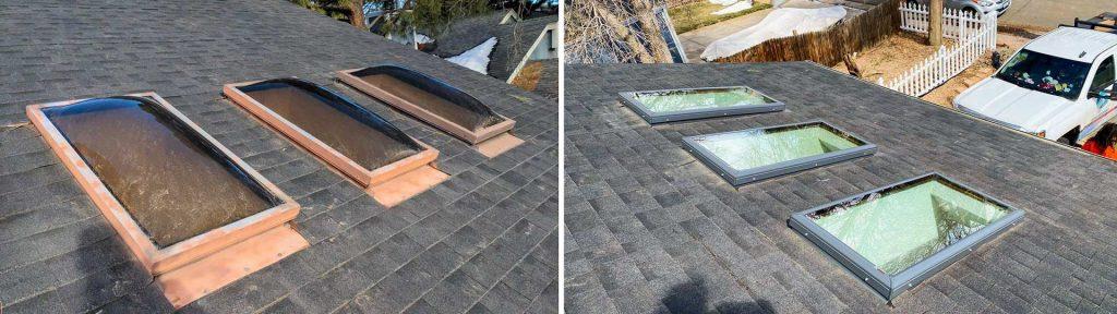 Velux-FCM 2246 skylight replacement 32458 header