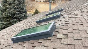 new curbs Velux skylight replacement 2307-11