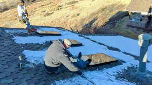 new curbs Velux skylight replacement 2307-2