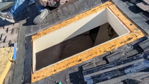 new curbs Velux skylight replacement 2307-5
