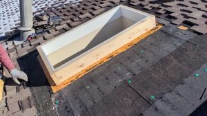 new curbs Velux skylight replacement 2307-6