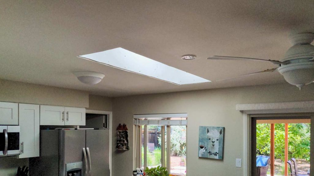 new install Velux FS C06 skylight 10