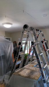 new install Velux FS C06 skylight 4
