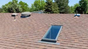 new install Velux FS C06 skylight 9