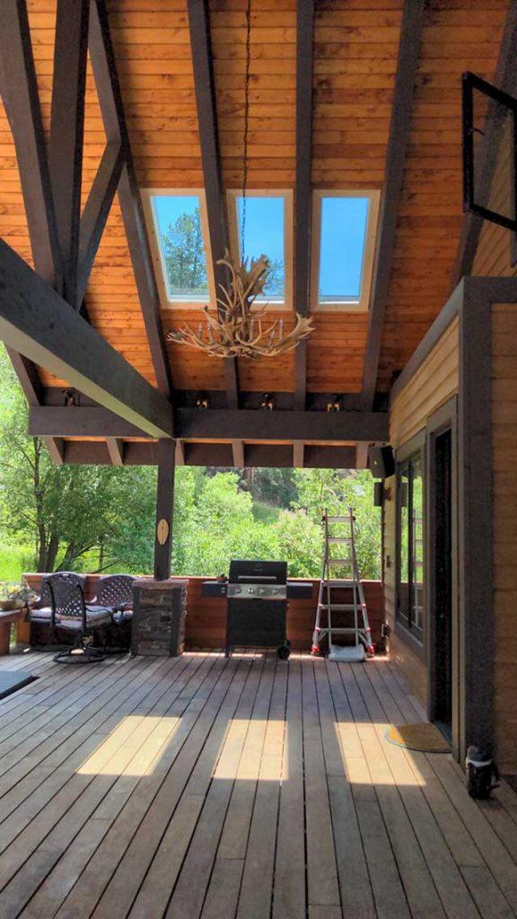 Velux deck mount patio 32932-4