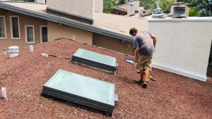 domes to Velux solar skylights 33100-8