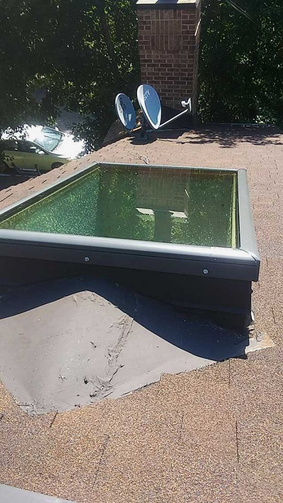 replace Beaumont Place skylights 32629-5