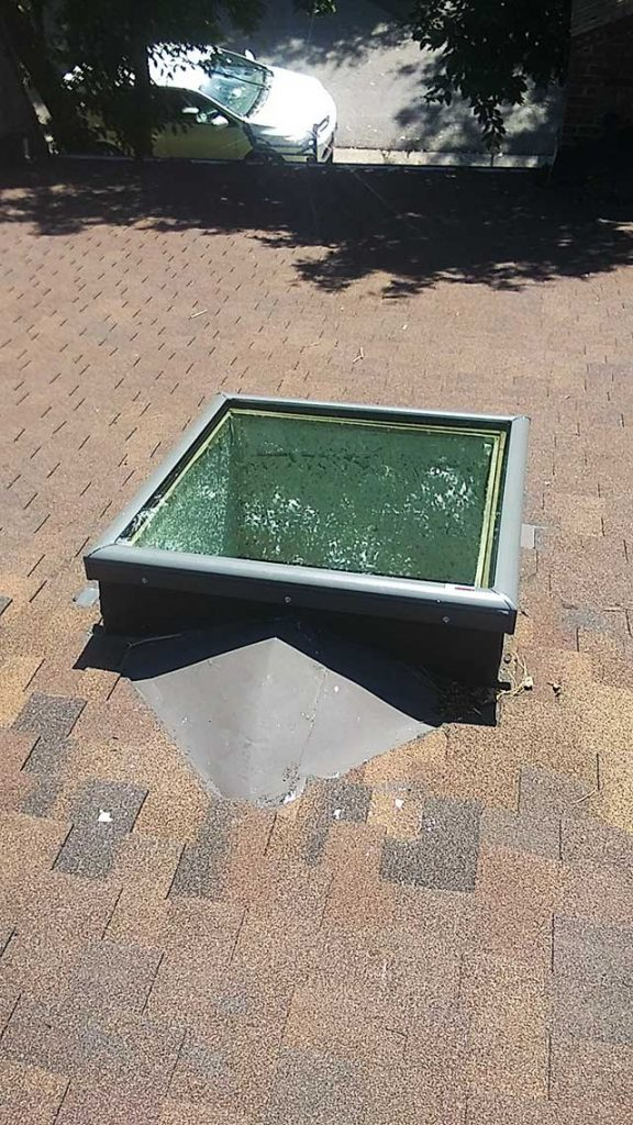 replace Beaumont Place skylights 32629-7
