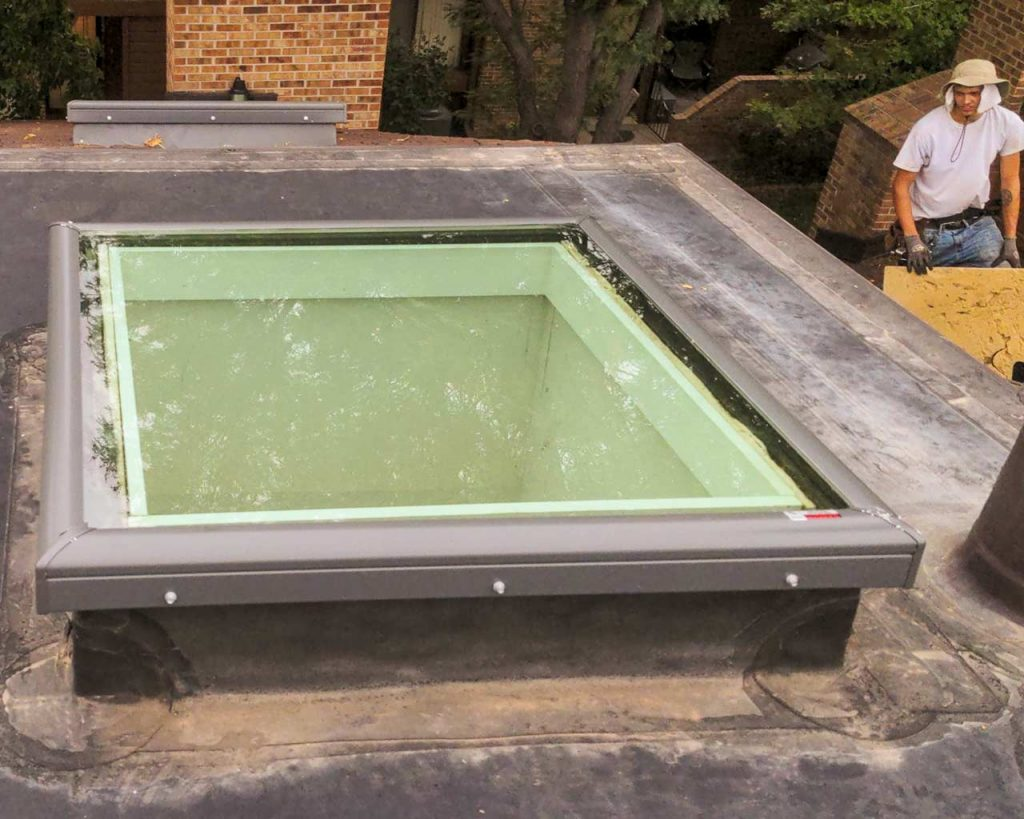 replace Beaumont Place skylights 33184-8