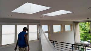 VELUX VCS skylight installation 21200-10